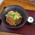 担担麺や 天秤 - 宜賓燃麺5辛(イーピンランメン)