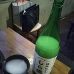 鉄板居酒屋 ウシカイ - 純米にごり酒 しら雪