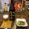 フードパラダイス エムエム - 料理写真:お通しとビール