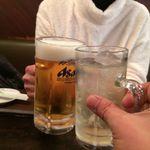 84011378 - H.30.1.24.昼 ハイボール vs 生ビール de 乾杯♪