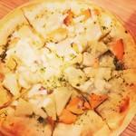 クラフトビア麦畑 - ボリューム満点ピザ