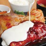 満天食堂 - チーズタッカルビ風定食