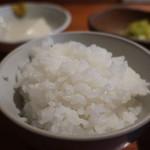 魚料理 ろっこん - ご飯