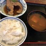 大衆割烹 三州屋 - めだい煮付け定食@780円