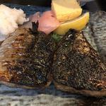 大衆割烹 三州屋 - ランチ友の鯖塩焼き