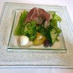 84021966 - 前菜のサラダもフレッシュ(^○^)