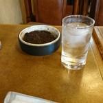 喫茶クッキー - テーブル上。