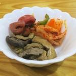 一木 - 油揚げと椎茸の煮物が美味かった