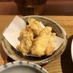 冠地鶏とかぼす平目 とよの本舗 -