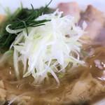 麺 大仏 - 刻みネギ