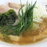 麺 大仏 - 芽ネギ