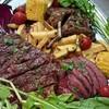神楽坂イタリアン 400 クワトロ チェント - 料理写真:迫力万点!!黒毛和牛ロースのビステッカ