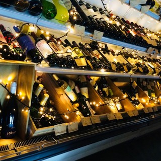 グラスワインは6種類、ノンアルコールも豊富です