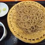 蕎麦倶楽部 佐々木 - 蕎麦粉9割3分