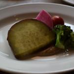 84034696 - 季節野菜の温製バーニャカウダ