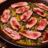 アロセリア ラ パンサ - 料理写真:鴨とポルチーニ茸のパエリア