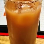 お野菜カフェ8 - カシスオレンジはなんか色が微妙やけど…美味しかった✨