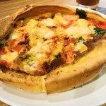 お野菜カフェ8 - ダッチピザ マルゲリ-タ