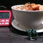 84038504 - 超特盛ビビンバ丼1058円 側面