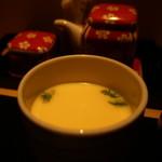 和彩寮 せのうみ - 筍、海老、三つ葉の茶碗蒸し