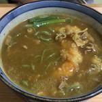 東家 - カレー天ぷらそば