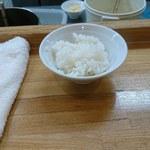 ラーメン 三太 - ランチのライス