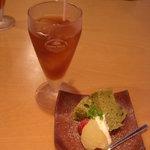 和-ダイニング Jump - ランチセットのデザート&飲み物(アイスティー選択)