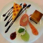 ブリッヂ - ブリッジコース デザート