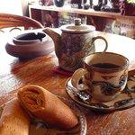 南窯 - ちんぴんとホットコーヒー