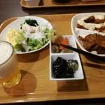 ホテル ルートイン - 夕食バイキング 1300円