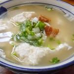 ななほし食堂 - 料理写真:ゆし豆腐定食 630円