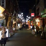 活海老バル orb - 【おまけ写真】JR大阪環状線の駅周辺では、地上における飲み屋数は、天満がTOPではないだろうか?