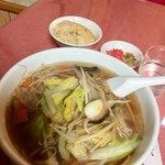 岩手屋 - これがサンマー麺です!