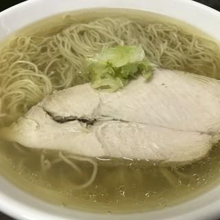 嘉瀬のラーメン家 - 料理写真:塩ラーメン(大盛り)