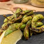 チャコールグリル グリーン - 炭火焼ケイジャン枝豆