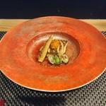 四季彩家 ろく - 鯛の焼き物にあんかけ