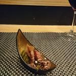 四季彩家 ろく - ホタルイカ酢の物