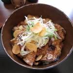 豚丼じゅじゅ庵 - 並(にんにく)¥650