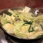 もつ彦 - 野菜多くて美味しそう〜♫