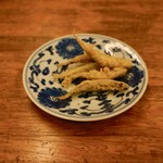 魚津屋 - 小鰯のフライ