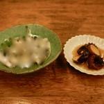 魚津屋 - 小鰯と飯蛸