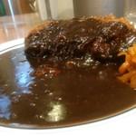 カレーの南海 - 料理写真:南海の黒いカレー。