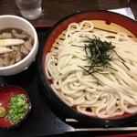 得得 - 料理写真:「イベリコ豚つけ麺 ざる3玉」(税込908円)