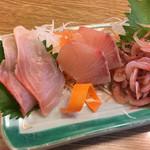 かもめ丸 - 地魚五点盛