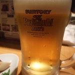 居酒屋 鳥幸 - プレミアム・モルツ♪