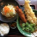 みくりやうどん - 名物カレー定食