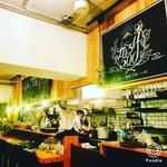健康レストラン かろり500 - 店内にはおしゃれな照明がたくさん。全てスタッフの手作りなんです^^