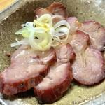 支那そば なかじま - 焼豚皿【料理】