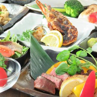 広島牛A5ステーキと日本酒飲放題付宴会コース