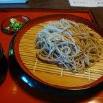 癒しの館 蕎麦処 仙酔庵 - 2011-06-25十割そば700円